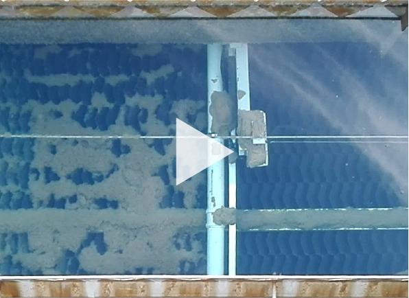 équipement automatique pour le nettoyage des décanteurs lamellaires tubJet®